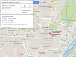 """Die Karte """"Nächste Ereignisse"""" informiert über anstehende Veranstaltungen (Screenshot: ZDNet.de)."""