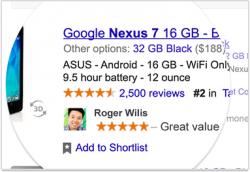 """Beispiele für """"soziale Empfehlungen in Anzeigen"""" (Bild: Google)"""