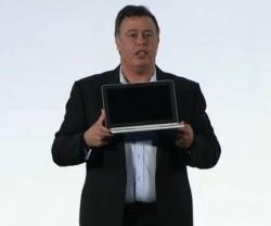 Don Weisler mit Chromebook 11 (Bild: HP)