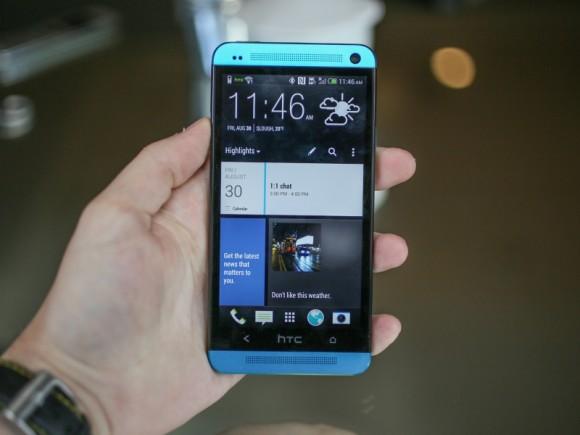 Läuft auf dem HTC One bald neben Android auch Windows Phone (Bild: CNET)?