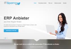IT Sparrow vermittelt zwischen IT-Entscheidern und IT-Dienstleistern.