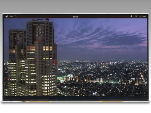 Der von Japan Display vorgestellte Tablet-Screen löst 3840 mal 2160 Bildpunkte auf (Bild: Japan Display).