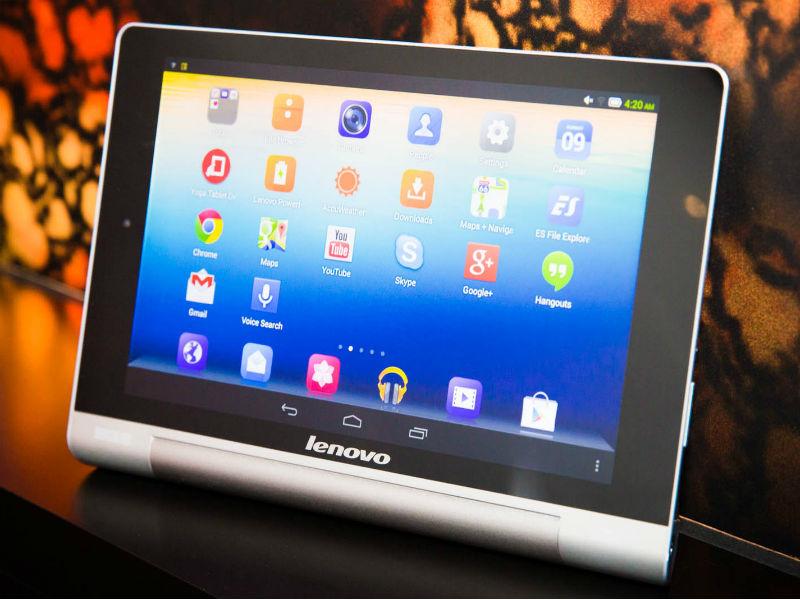 lenovo stellt tablet reihe yoga mit bis zu 18 stunden. Black Bedroom Furniture Sets. Home Design Ideas