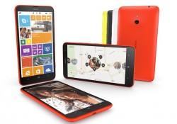 Das Lumia 1320 ist eine abgespeckte Version des Lumia 1520. Dafür kostet es mit 399 Euro auch nur die Hälfte (Bild: Nokia).