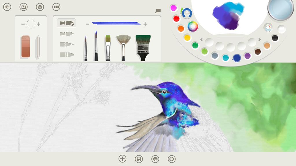 microsoft liefert windows 8 1 mit malprogramm fresh paint