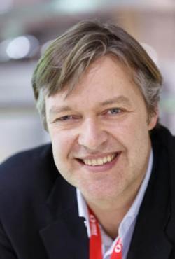 Opera-CEO Lars Boilesen auf dem MWC 2013 (Bild: News.com)