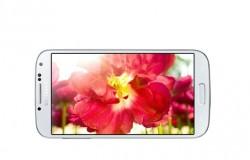 AMOLED-Bildschirm im Galaxy S4 (Bild: Samsung)