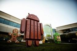 Android 4.4 KitKat hat inzwischen Ice Cream Sandwich und Gingerbread überholt (Bild: Google).