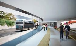 Busbahnhof (Bild: Apple)