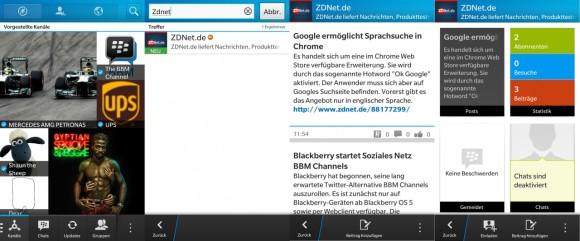 BBM Channels: Soziales Netzwerk von Blackberry