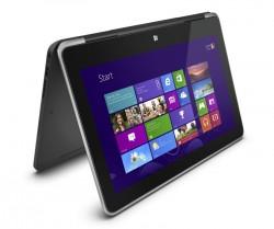 Das XPS 11 lässt sich dank umklappbarem Touchscreen sowohl als Notebook als auch als Tablet nutzen (Bild: Dell).