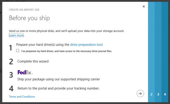 Import-Export-Hilfe (Screenshot: Microsoft)