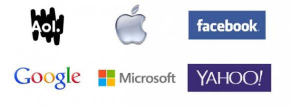 Logos der Unterzeichnerfirmen auf dem offenen Brief