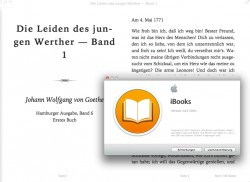 Apple iBooks (Screenshot: ZDNet.de)