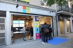 El Espacio Microsoft in Madrid (Bild: Microsoft)