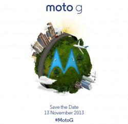 Einladung zur Vorstellung des Moto G (Bild: Motorola).