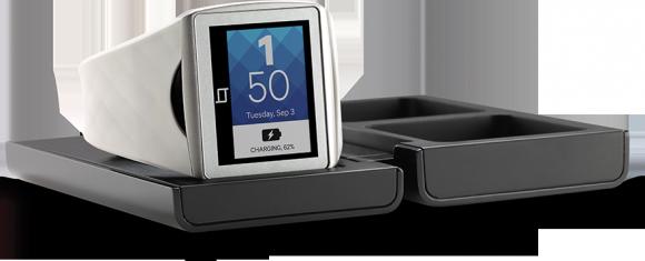 Qualcomms Smartwatch Toq lässt sich drahtlos laden und aktualisieren (Bild: Qualcomm).