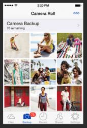 Das neue Skydrive für iOS (Bild: Microsoft)