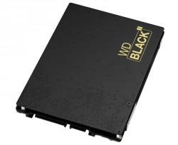 Die WD Black² kombiniert eine 120-GByte-SSD mit einer 1-TByte-Festplatte in einem 2,5-Zoll-Gehäuse (Bild: WD).