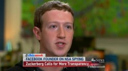 "Mark Zuckerberg bei ""This Week"" auf ABC (Screenshot: News.com)"