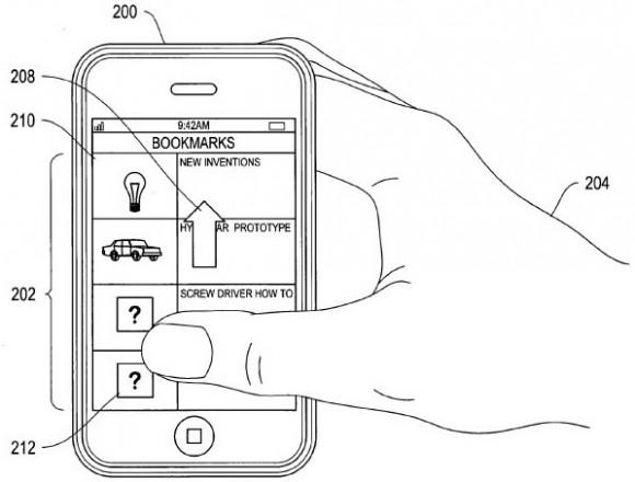 Die in einem Apple-Patent beschriebene Gesichtserkennung soll unter anderem die Eingabe des Passworts ersetzen (Bild: Apple/USPTO).