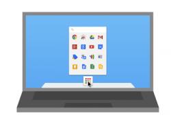 Chrome-App-Launcher im Mac-Dock (Bild: Google)
