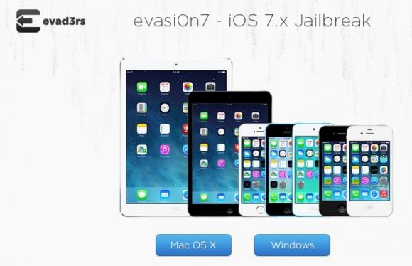 evasi0n 7: Jailbreak für iOS 7