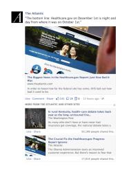 Facebook zeigt künftig mehr Nachrichtenartikel im News Feed an (Bild: Facebook).