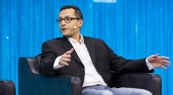 Google+-Produktmanager Bradley Horowitz auf der Konferenz LeWeb (Bild: Stephen Shankland / CNET.com)