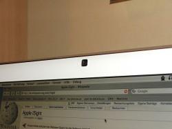 "In einem iMac integrierte iSight-Kamera (Bild: <a href=""http://commons.wikimedia.org/wiki/File:Isight_imac.JPG?uselang=de"" target=""_blank"">Xell/Creative Commons</a>)"