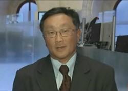 John Chen auf Bloomberg TV im Jahr 2011 (Screenshot: News.com)