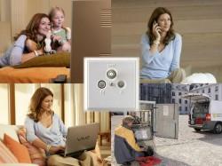 Mit den neuen Kombi-Paketen bietet Kabel Deutschland Fernsehen, Internet und Telefon aus einer Hand an (Bild: Kabel Deutschland).