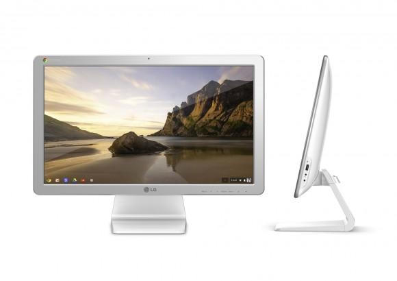 Der Chromebase ist der erste All-in-One-Rechner mit Googles Chrome OS (Bild: LG).