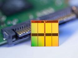 NAND-Speicherchip (Bild: Micron)