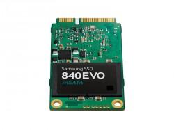 Die SSD 840 EVO mSATA bietet bis zu 1 TByte Speicherplatz (Bild: Samsung).