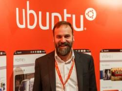 Canonical-Gründer Mark Shuttleworth auf der LeWeb in Paris (Bild: Stephen Shankland/CNET).