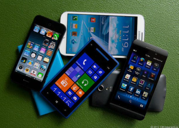 Smartphones (Bild: ZDNet.com)