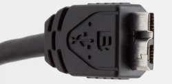 USB-Anschluss vom Typ B: Typ C soll einfacher und kleiner ausfallen (Bild: News.com).