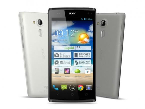 Das Liquid Z5 kommt in Kürze für 169 Euro in den Handel (Bild: Acer).
