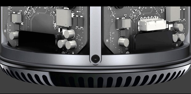 Platinen des Apple Mac Pro 2013