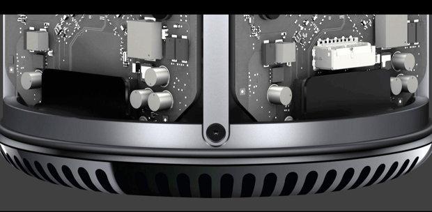 Platinen des Apple Mac Pro 2013