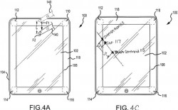 Drucksensoren in Tablet (Bild_ Apple, via USPTO)