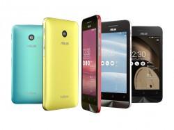 Das 4-Zoll-Modell Zenfone 4 wird es in fünf Farben geben (Bild: Asus).