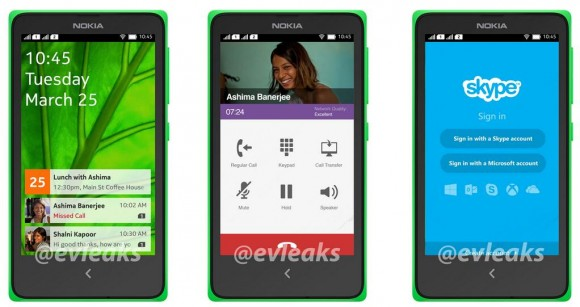 Nokia Normandy (Bild: via @evleaks)