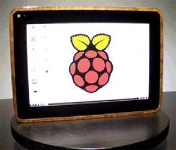 Tablet auf Basis eines Raspberry Pi: Das PiPad (Bild: Michael Castor)