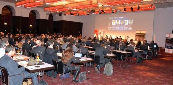 Beim 5G@Europe Summit 2014 von Huawei traf sich ein hochkarätiges Publikum aus Europa, Asien und Nord-Amerika im feinen Sofitel Hotel Bayerpost zu München (Foto: Harald Karcher).