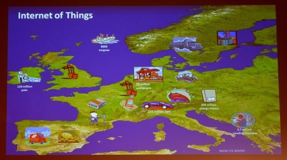 Die mobile Vernetzung von Maschinen und Fahrzeugen, das IoT alias Internet of Things, verspricht neue Milliarden-Märkte (Quelle: Professor Dr. Hans D. Schotten)