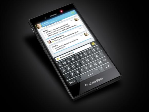 Das Blackberry Z3 soll zunächst in Indonesien für unter 200 Dollar in den Handel kommen (Bild: Blackberry).