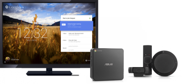 Chromebox for Meetings - Monitor nicht im Preis enthalten (Bild: Google)