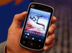 Ein von Mozilla auf dem MWC gezeigtes Referenz-Telefon mit Spreadtrums Prozessor und Firefox OS (Bild: Stephen Shankland/CNET)